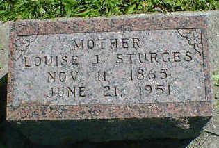 STURGES, LOUISE J. - Cerro Gordo County, Iowa | LOUISE J. STURGES