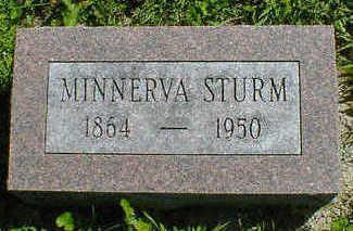 STURM, MINNERVA - Cerro Gordo County, Iowa | MINNERVA STURM