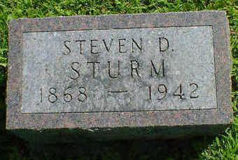 STURM, STEVEN D. - Cerro Gordo County, Iowa | STEVEN D. STURM