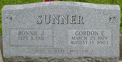 SUNNER, GORDON ELLIOT - Cerro Gordo County, Iowa   GORDON ELLIOT SUNNER