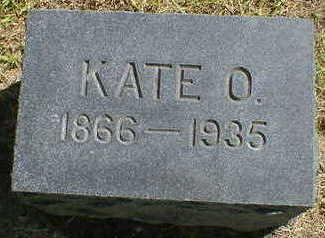 SWAN, KATE O. - Cerro Gordo County, Iowa   KATE O. SWAN