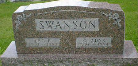 SWANSON, LEO F. - Cerro Gordo County, Iowa   LEO F. SWANSON