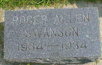 SWANSON, ROGER ALLEN - Cerro Gordo County, Iowa   ROGER ALLEN SWANSON
