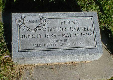 TAYLOR-DARNELL, FERNE - Cerro Gordo County, Iowa | FERNE TAYLOR-DARNELL