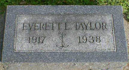 TAYLOR, EVERETT L. - Cerro Gordo County, Iowa | EVERETT L. TAYLOR