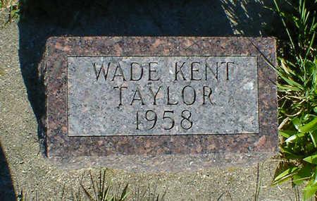 TAYLOR, WADE KENT - Cerro Gordo County, Iowa | WADE KENT TAYLOR