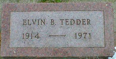 TEDDER, ELVIN B. - Cerro Gordo County, Iowa | ELVIN B. TEDDER