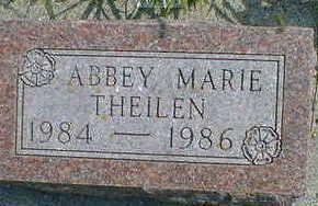 THEILEN, ABBEY MARIE - Cerro Gordo County, Iowa | ABBEY MARIE THEILEN