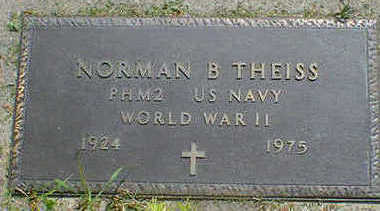 THEISS, NORMAN B. - Cerro Gordo County, Iowa   NORMAN B. THEISS