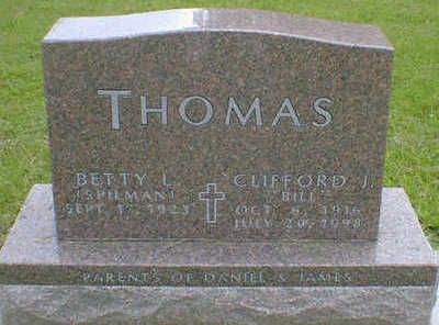 THOMAS, CLIFFORD J.