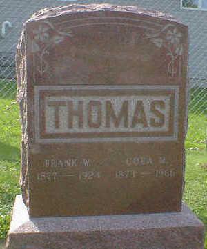 THOMAS, CORA M. - Cerro Gordo County, Iowa | CORA M. THOMAS