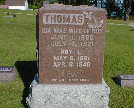 THOMAS, IDA MAE - Cerro Gordo County, Iowa | IDA MAE THOMAS
