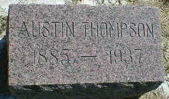 THOMPSON, AUSTIN - Cerro Gordo County, Iowa | AUSTIN THOMPSON