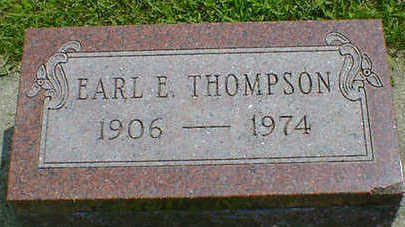 THOMPSON, EARL E. - Cerro Gordo County, Iowa | EARL E. THOMPSON