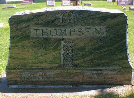 THOMPSON, JORGINE - Cerro Gordo County, Iowa | JORGINE THOMPSON