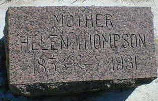 THOMPSON, HELEN - Cerro Gordo County, Iowa   HELEN THOMPSON