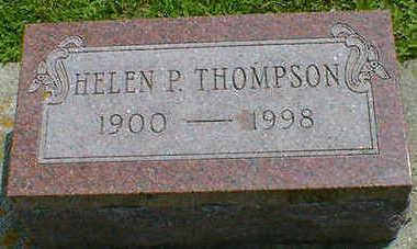 THOMPSON, HELEN P. - Cerro Gordo County, Iowa   HELEN P. THOMPSON