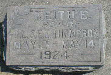 THOMPSON, KEITH E. - Cerro Gordo County, Iowa | KEITH E. THOMPSON