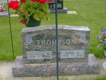 THOMPSON, PAUL G. - Cerro Gordo County, Iowa | PAUL G. THOMPSON
