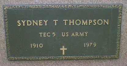 THOMPSON, SYDNEY - Cerro Gordo County, Iowa | SYDNEY THOMPSON