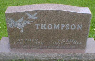 THOMPSON, SYDNEY - Cerro Gordo County, Iowa   SYDNEY THOMPSON