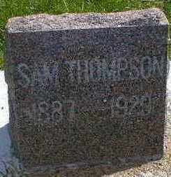 THOMPSON, SAM - Cerro Gordo County, Iowa | SAM THOMPSON