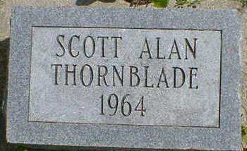 THORNBLADE, SCOTT ALAN - Cerro Gordo County, Iowa   SCOTT ALAN THORNBLADE