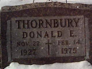 THORNBURY, DONALD - Cerro Gordo County, Iowa | DONALD THORNBURY