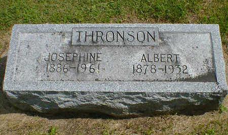 THRONSON, JOSEPHINE - Cerro Gordo County, Iowa | JOSEPHINE THRONSON