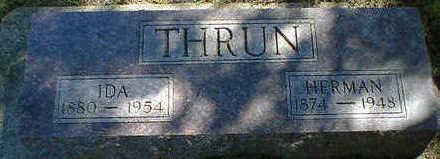 THRUN, IDA - Cerro Gordo County, Iowa | IDA THRUN