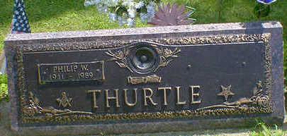 THURTLE, PHILIP W. - Cerro Gordo County, Iowa | PHILIP W. THURTLE
