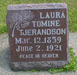 TJERANDSON, LAURA TOMINE - Cerro Gordo County, Iowa | LAURA TOMINE TJERANDSON
