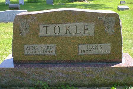 TOKLE, HANS - Cerro Gordo County, Iowa | HANS TOKLE