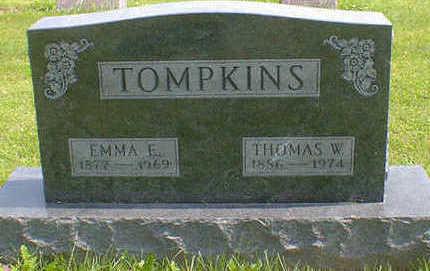 TOMPKINS, EMMA E. - Cerro Gordo County, Iowa | EMMA E. TOMPKINS
