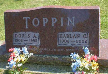 TOPPIN, DORIS A. - Cerro Gordo County, Iowa | DORIS A. TOPPIN