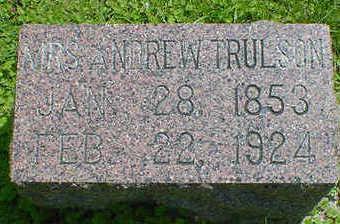 TRULSON, MRS. ANDREW - Cerro Gordo County, Iowa | MRS. ANDREW TRULSON