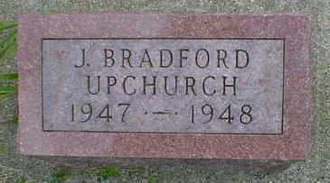 UPCHURCH, J. BRADFORD - Cerro Gordo County, Iowa | J. BRADFORD UPCHURCH