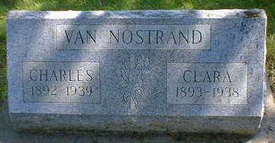 VAN NOSTRAND, CLARA - Cerro Gordo County, Iowa | CLARA VAN NOSTRAND