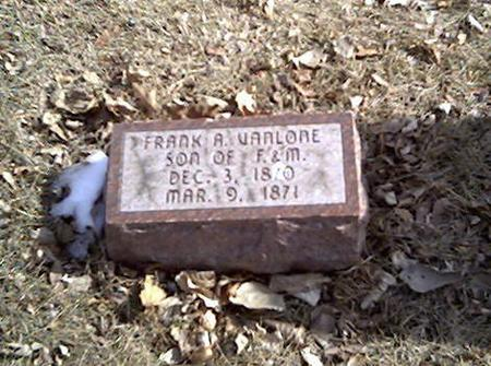 VANLONE, FRANK - Cerro Gordo County, Iowa | FRANK VANLONE