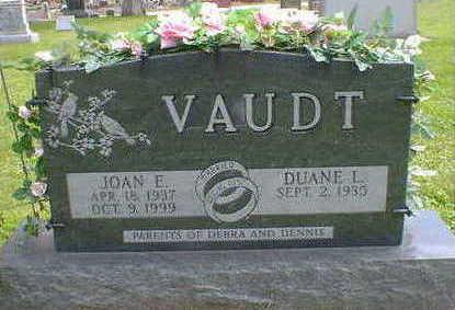 VAUDT, JOAN E. - Cerro Gordo County, Iowa   JOAN E. VAUDT