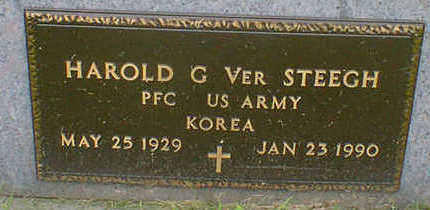 VER STEEGH, HAROLD G. - Cerro Gordo County, Iowa | HAROLD G. VER STEEGH