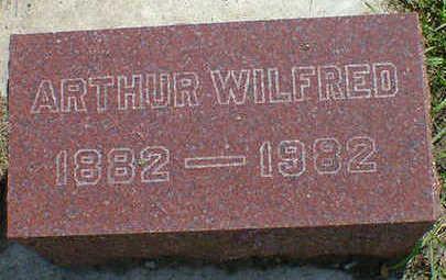 VERBECKMOES, ARTHUR WILFRED - Cerro Gordo County, Iowa | ARTHUR WILFRED VERBECKMOES