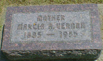 VERNON, MARCIA A. - Cerro Gordo County, Iowa | MARCIA A. VERNON