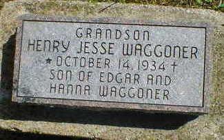 WAGGONER, HENRY JESSE - Cerro Gordo County, Iowa   HENRY JESSE WAGGONER