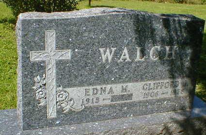 WALCH, CLIFFORD J. - Cerro Gordo County, Iowa | CLIFFORD J. WALCH