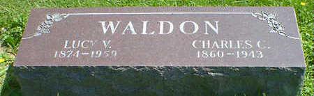 WALDON, LUCY V. - Cerro Gordo County, Iowa | LUCY V. WALDON