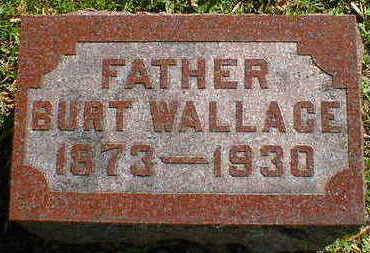 WALLACE, BURT - Cerro Gordo County, Iowa | BURT WALLACE