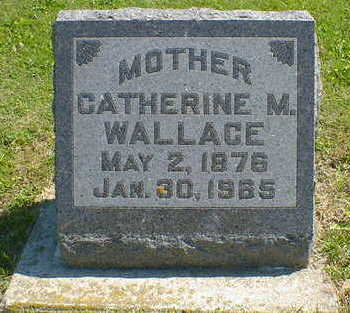 WALLACE, CATHERINE M. - Cerro Gordo County, Iowa | CATHERINE M. WALLACE