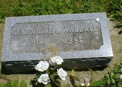 WALLACE, GENEVIEVE L. - Cerro Gordo County, Iowa | GENEVIEVE L. WALLACE