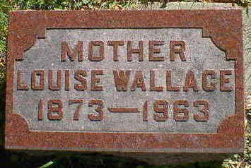 WALLACE, LOUISE - Cerro Gordo County, Iowa   LOUISE WALLACE